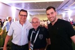 Antonio Masseo, Joseph Schatzker e Alexandre Mestriner.